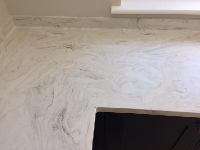 Corian Limestone Prima Kitchen Worktop